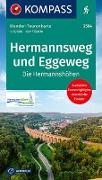 Cover-Bild zu KOMPASS-Karten GmbH (Hrsg.): Fahrrad-Tourenkarte Weserradweg. 1:50'000