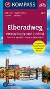 Cover-Bild zu KOMPASS-Karten GmbH (Hrsg.): Fahrrad-Tourenkarte Elberadweg 1, Von Schmilka nach Magdeburg. 1:50'000
