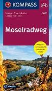 Cover-Bild zu KOMPASS-Karten GmbH (Hrsg.): Fahrrad-Tourenkarte Moselradweg. 1:50'000