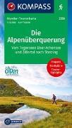 Cover-Bild zu KOMPASS-Karten GmbH (Hrsg.): Die Alpenüberquerung. 1:50'000