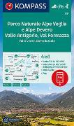 Cover-Bild zu KOMPASS-Karten GmbH (Hrsg.): KOMPASS Wanderkarte Parco Naturale Alpe Veglia e Alpe Devero, Valle Antigorio, Val Formazza, Val Divedro, Domodossola. 1:50'000