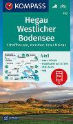 Cover-Bild zu KOMPASS-Karten GmbH (Hrsg.): KOMPASS Wanderkarte Hegau Westlicher Bodensee, Schaffhausen, Konstanz, Insel Mainau. 1:50'000