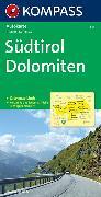Cover-Bild zu KOMPASS-Karten GmbH (Hrsg.): Südtirol, Dolomiten. 1:150'000