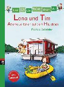 Cover-Bild zu Schröder, Patricia: Erst ich ein Stück, dann du - Lena und Tim - Abenteuerferien auf dem Hausboot (eBook)