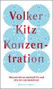 Cover-Bild zu Kitz, Volker: Konzentration