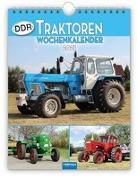 """Cover-Bild zu Wochenkalender """"DDR-Traktoren"""" 2021 von Kunkel, Ralf-Christian (Fotogr.)"""