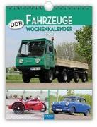 """Cover-Bild zu Wochenkalender """" DDR-Fahrzeuge"""" 2021 von Kunkel, Ralf-Christian (Fotogr.)"""