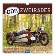 """Cover-Bild zu Technikkalender """"DDR-Zweiräder"""" 2021 von Kunkel, Ralf-Christian (Fotogr.)"""