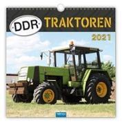 """Cover-Bild zu Technikkalender """"DDR-Traktoren"""" 2021 von Kunkel, Ralf-Christian (Fotogr.)"""