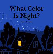 Cover-Bild zu Snider, Grant: What Color Is Night?