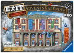Cover-Bild zu Ravensburger 18958 - EXIT Adventskalender pro - Das verrückte Zeitreisemuseum - 24 Rätsel für EXIT-Begeisterte ab 14 Jahren