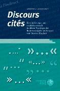 Cover-Bild zu Landvogt, Andrea: 'Discours cités'