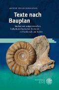 Cover-Bild zu Poier-Bernhard, Astrid: Texte nach Bauplan