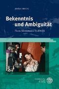Cover-Bild zu Hock, Jonas: Bekenntnis und Ambiguität
