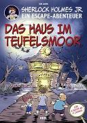 Cover-Bild zu Sherlock Holmes Jr. - Ein Escape-Abenteuer von Grimm, Tom