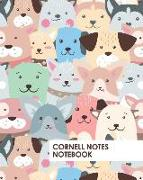 Cover-Bild zu Daniel, David: Cornell Notes Notebook: Dog Lover Notebook Supports a Proven Way to Improve Study and Information Retention