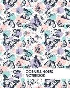 Cover-Bild zu Daniel, David: Cornell Notes Notebook: Beautiful Butterfly Notebook Supports a Proven Way to Improve Study and Information Retention