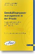 Cover-Bild zu Geschäftsprozessmanagement in der Praxis von Schmelzer, Hermann J.