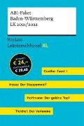 Cover-Bild zu Leis, Mario: Lektüreschlüssel XL. ABI-Paket Baden-Württemberg LK 2021/2022