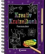 Cover-Bild zu Loewe Kratzel-Welt (Hrsg.): Kreativ-Kratzelbuch: Feenzauber