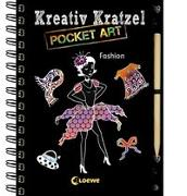 Cover-Bild zu Loewe Kratzel-Welt (Hrsg.): Kreativ-Kratzel Pocket Art: Fashion