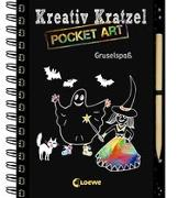 Cover-Bild zu Loewe Kratzel-Welt (Hrsg.): Kreativ-Kratzel Pocket Art: Gruselspaß