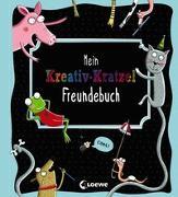 Cover-Bild zu Loewe Kratzel-Welt (Hrsg.): Mein Kreativ-Kratzel Freundebuch