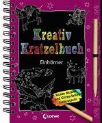 Cover-Bild zu Loewe Kratzel-Welt (Hrsg.): Kreativ-Kratzelbuch: Einhörner