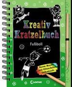 Cover-Bild zu Loewe Kratzel-Welt (Hrsg.): Kreativ-Kratzelbuch: Fußball