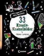 Cover-Bild zu Loewe Kratzel-Welt (Hrsg.): Die besten 33 Kreativ-Kratzelbilder für kleine Künstler
