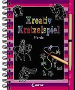 Cover-Bild zu Loewe Kratzel-Welt (Hrsg.): Kreativ-Kratzelspiel: Pferde