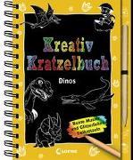Cover-Bild zu Loewe Kratzel-Welt (Hrsg.): Kreativ-Kratzelbuch: Dinos