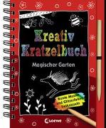 Cover-Bild zu Loewe Kratzel-Welt (Hrsg.): Kreativ-Kratzelbuch: Magischer Garten