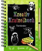 Cover-Bild zu Loewe Kratzel-Welt (Hrsg.): Kreativ-Kratzelbuch: Tierkinder