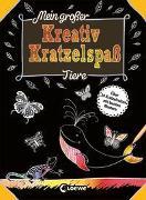 Cover-Bild zu Loewe Kratzel-Welt (Hrsg.): Mein großer Kreativ-Kratzelspaß: Tiere