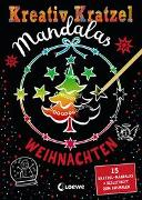 Cover-Bild zu Loewe Kratzel-Welt (Hrsg.): Kreativ-Kratzel Mandalas - Weihnachten