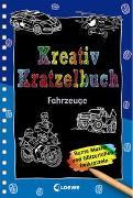Cover-Bild zu Loewe Kratzel-Welt (Hrsg.): Kreativ-Kratzelbuch: Fahrzeuge