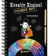 Cover-Bild zu Heger, Ann-Katrin: Kreativ-Kratzel Pocket Art: Farbenglück