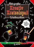 Cover-Bild zu Loewe Kratzel-Welt (Hrsg.): Mein großer Kreativ-Kratzelspaß: Weihnachten