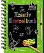 Cover-Bild zu Loewe Kratzel-Welt (Hrsg.): Kreativ-Kratzelbuch