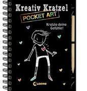 Cover-Bild zu Loewe Kratzel-Welt (Hrsg.): Kreativ-Kratzel Pocket Art: Kratzle deine Gefühle!