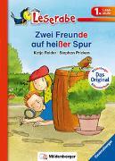 Cover-Bild zu Reider, Katja: Zwei Freunde auf heißer Spur - Leserabe 1. Klasse - Erstlesebuch für Kinder ab 6 Jahren