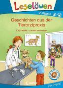 Cover-Bild zu Reider, Katja: Leselöwen 2. Klasse - Geschichten aus der Tierarztpraxis