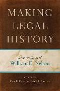 Cover-Bild zu Hulsebosch, Daniel J. (Hrsg.): Making Legal History