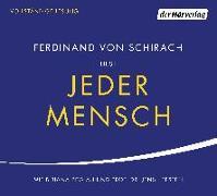 Cover-Bild zu Jeder Mensch von Schirach, Ferdinand von