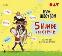 Cover-Bild zu Ibbotson, Eva: 5 Hunde im Gepäck