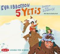 Cover-Bild zu Ibbotson, Eva: 5 Yetis suchen ein Zuhause (3 CDs)