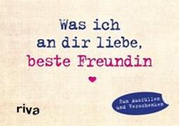 Cover-Bild zu Reinwarth, Alexandra: Was ich an dir liebe, beste Freundin - Miniversion