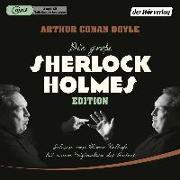 Cover-Bild zu Doyle, Arthur Conan: Die große Sherlock-Holmes-Edition