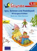 Cover-Bild zu Lenz, Martin: Leserabe - 1. Lesestufe: Ein Pony will hoch hinaus: Iglu, Schnee und Rodelspaß. Wintergeschichten